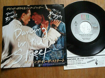 "David Bowie / Mick Jagger -Dancing In The Streets -  Japan 7"" 45 - Emi Ess-17576"