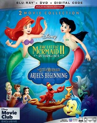 The Little Mermaid II + di Ariel Beginning 2-movie Collection (U.Blu-Ray / DVD)