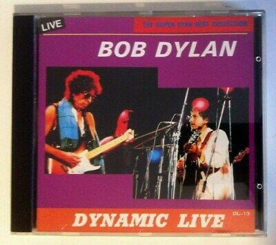 Bob Dylan & The Grateful Dead Dynamic Live Selten Japan CD 1994