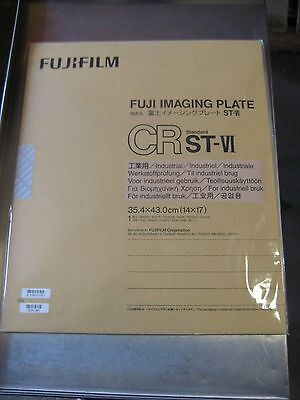 "Fuji CR IP xray cr screen cassette 14"" x 17"" ST-VI phosphor plate new"
