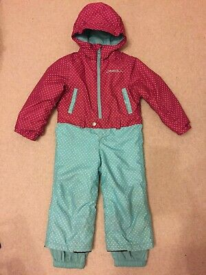 b1728af66 O'neill Girls Snowsuit 8K Waterproof 8K Breathability Rating Size 2 years