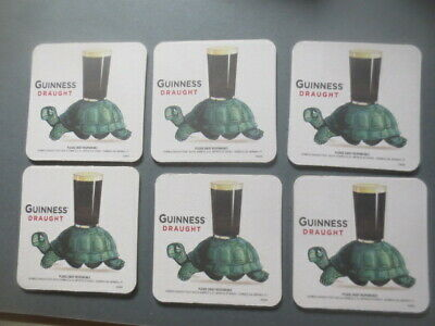 6 x  GUINNESS U.S.A. / Guinness Draught collectable BEER Coasters