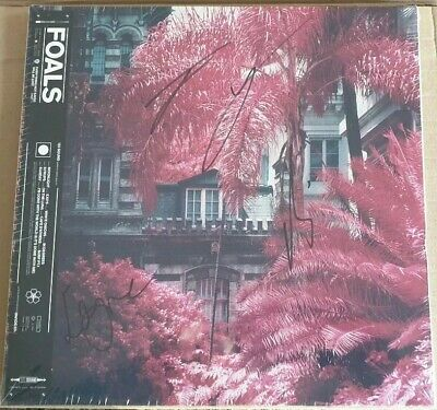 FOALS Everything Not Saved Will Be Lost Vinyl Album LP NEW, signed sealed.
