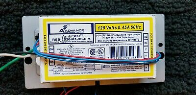 Ambistar REB-126-M6-BLS Ballast NEW Philips Advance