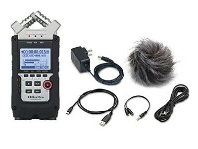NEW ZOOM H4n Pro+APH-4n Pro Handy Recorder+accessory pack set from JAPAN