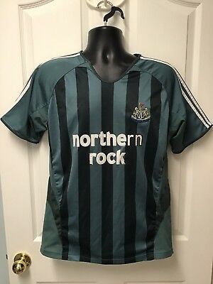 c6b67772e Newcastle United FC Northern Rock Men s Futbol Soccer Jersey Size Medium  EUC 120