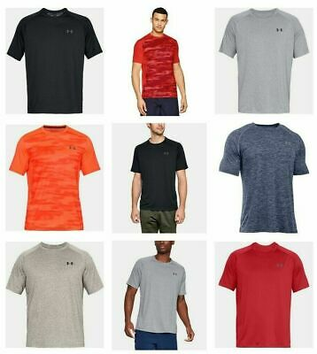 Under Armour Mens UA Raid Tech Tee 2.0 T Shirts Tee Tops Sports Gym Training