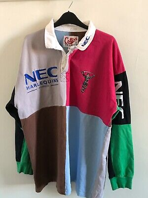 Harlequins rugby shirt XL 1990s cotton traders