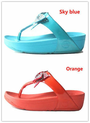 51d4e2e34a71 HOT FITFLOP WOMAN fashion Body sculpting flip-flops 5 colors US Size ...