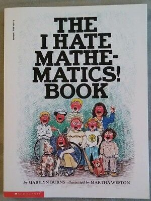 The I Hate Mathematics Book. Scholastic book. (1994, Paperback)