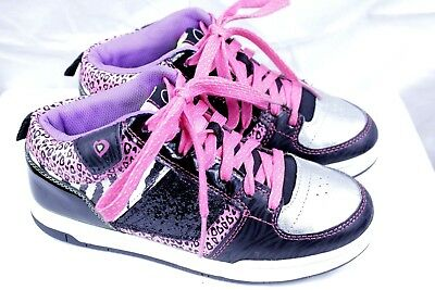 df9ca03e9 OP OCEAN PACIFIC brand girls athletic shoes size 4 youth multi color WF12