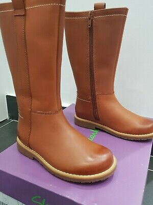 61d6dee69abd Clarks Girls Tildygrace Light Tan Leather Boots-Size9F Infant (brand new  inbox)