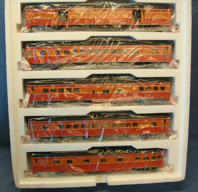 MTH SOUTHERN PACIFIC 5 Car 70' ABS Passenger Set Smooth 20-6523 O Scale New