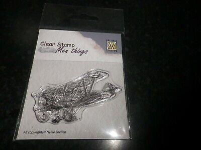 CSMT007 Oldtimer 2 Nellie Snellen Clear Cling Stamp Men/'s Things