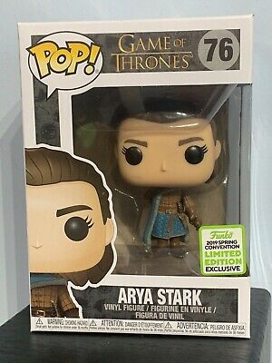 Funko Pop - ARYA STARK 76 - Game of Thrones - 2019 Spring Excl - IN HAND [1]