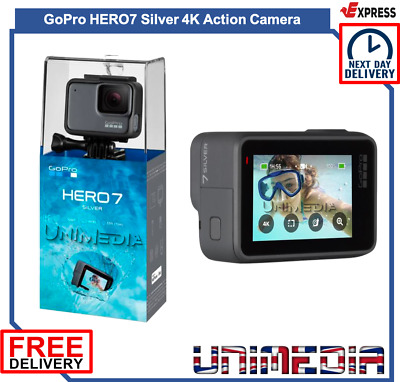 GoPro HERO7 Silver 4K Action Camera (Next Day Delivery available)