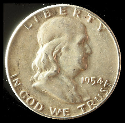 1954-P Franklin 90% Silver Half Dollar Ships Free. Buy 5 for $2 off