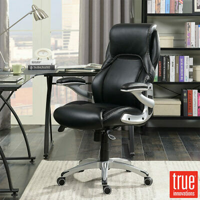 Dereham Managers Large Padded Black Fabric Swivel Chair *£100 Vat *FREE DEL*