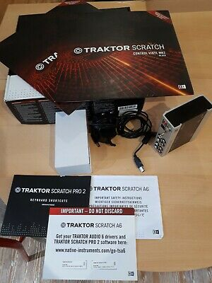 NATIVE INSTRUMENTS TRAKTOR Scratch Pro 2 Software & Timecode
