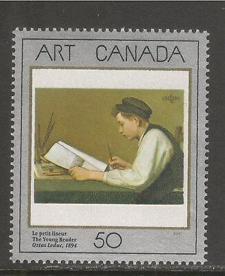 Canada #1203 (A546) VF MNH - 1988 50c The Young Reader, by Ozias Leduc