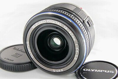 OLYMPUS M.ZUIKO DIGITAL 14-42mm f/3.5-5.6 ED For Micro 4/3 [Excellent] w/ Caps