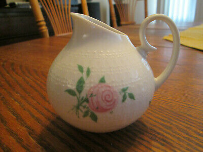 "MINT Condition Vintage Rosenthal Studio-Line Creamer Rose 3-1/2"" tall Antique"