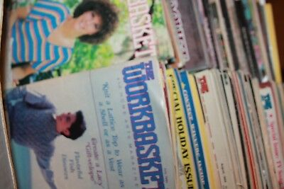 Vintage The WorkBasket Creative quilting & annies crochet Magazines Lot of 125