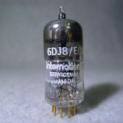 International Servicemaster 6DJ8/ECC88 Tube Rare Gold Pin Made in Japan
