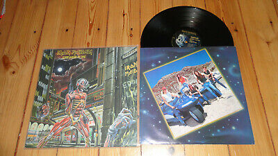 Iron maiden Somewhere in Time  LP  Capitol Rec. U.S.A  OIS Priest motörhead