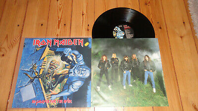 Iron maiden No Prayer for the Dying LP OIS  EMI  maiden Priest motörhead