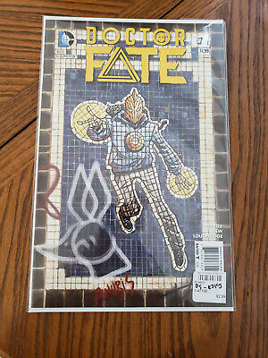 Doctor Fate #1 NM-  Movie confirmed 1st print & 1st app Khalid Nassour 2015