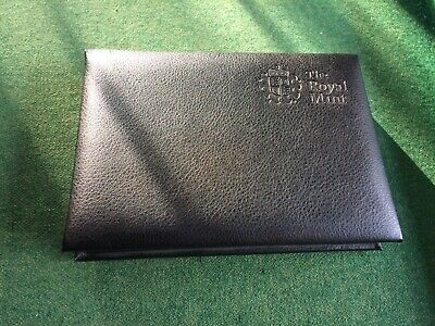 2010 Official Royal Mint Proof FDC Coin Display Set (13 coins) in Leather Case