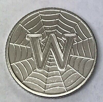 New 10p Coin Letter W 2018 World Wide Web Ten Pence Free P&P