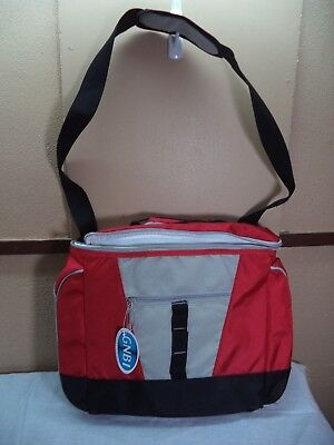 Picnic Travel Gym Overnight Bag, Multi-color Nylon, Lots of Compartments NWT