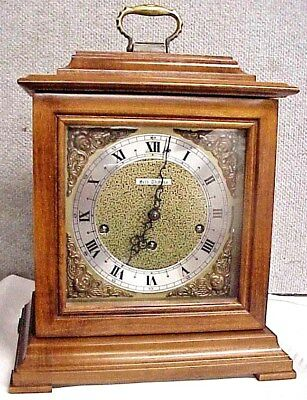 Vintage 1977 Seth Thomas Westminster Chime Legacy 3 Mantel Shelf Clock