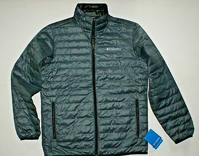 """New Mens Columbia /""""French Creek/"""" EXS Water Resistant Jacket"""