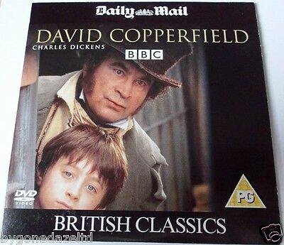 David Copperfield- Bob Hoskins - Newspaper Promotion Dvd Free Uk Post