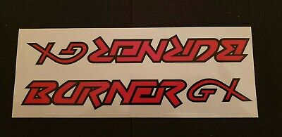 NOS Raleigh Burner GX Red/Black Sticker/Decal Old Shop Stock