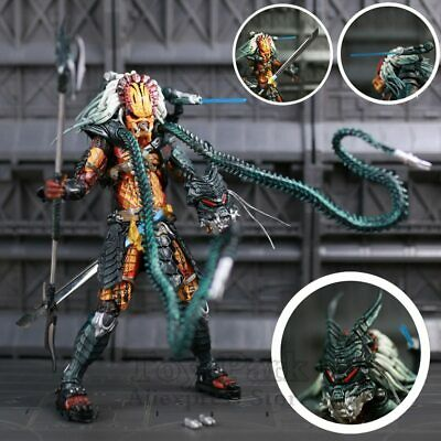 "NECA Predator Clan Leader Alien Hunter 7"" Action Figure Ultimate Collectible Toy"