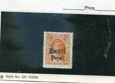 Russian Very old used stamp O/P during German occupation Estonia 1941 VF