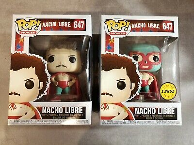 Nacho Libre #647 - Funko! Pop - 2 Pack - Limited Chase Edition - Movies - Rare