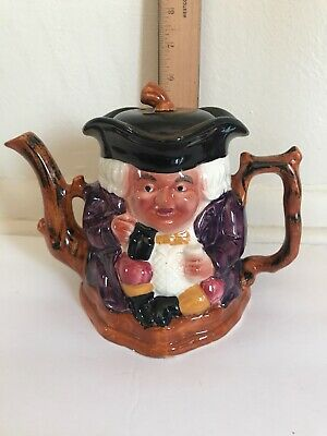 Vintage Shorter & Sons Two Faced Toby Pitcher Hand Painted England