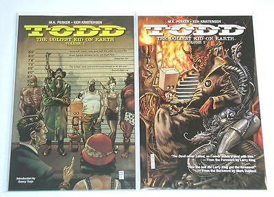 Todd The Ugliest Kid on Earth Vol.1-2 TPB Complete Set - Image Comics