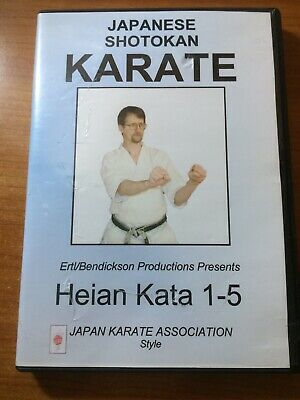 Japanese Shotokan Karate: Heian Kata 1-5 (DVD) RARE...pm45