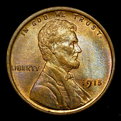 1915-P Lincoln Wheat cent penny - nice coin! *99C NO RESERVE* (190323034)