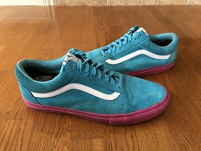 ce03795161e0 Vans Old Skool Pro S Golf Wang Odd Future Syndicate Blue Pink Vn-0Qhmf5E 13