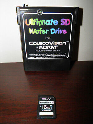 COLECOVISION/ADAM SUPERGAME MODULE with SD wafer drive (factory new