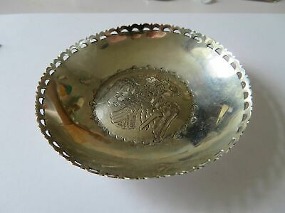 Vintage S 800 Solid Silver Orthodox Double Eagle Dish