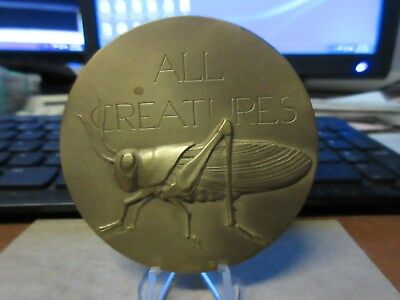 1976 Society of Medalists #93 All Creatures Great & by Small Harvey Weiss MACO