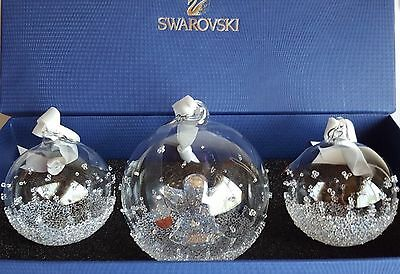 SWAROVSKI #5136414 CHRISTMAS BALL ORNAMENT ANNUAL EDITION 2015 set BRAND NEW !
